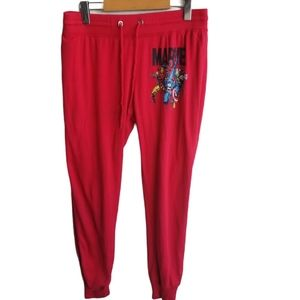 Marvel | Red Inside Out Pyjama Pants/Joggers, XL